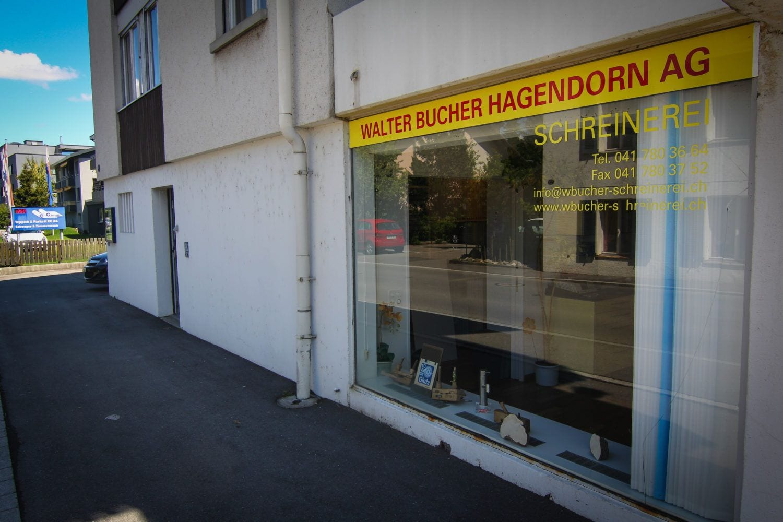 Bucher AG - Kontakt & Ausstellungsraum