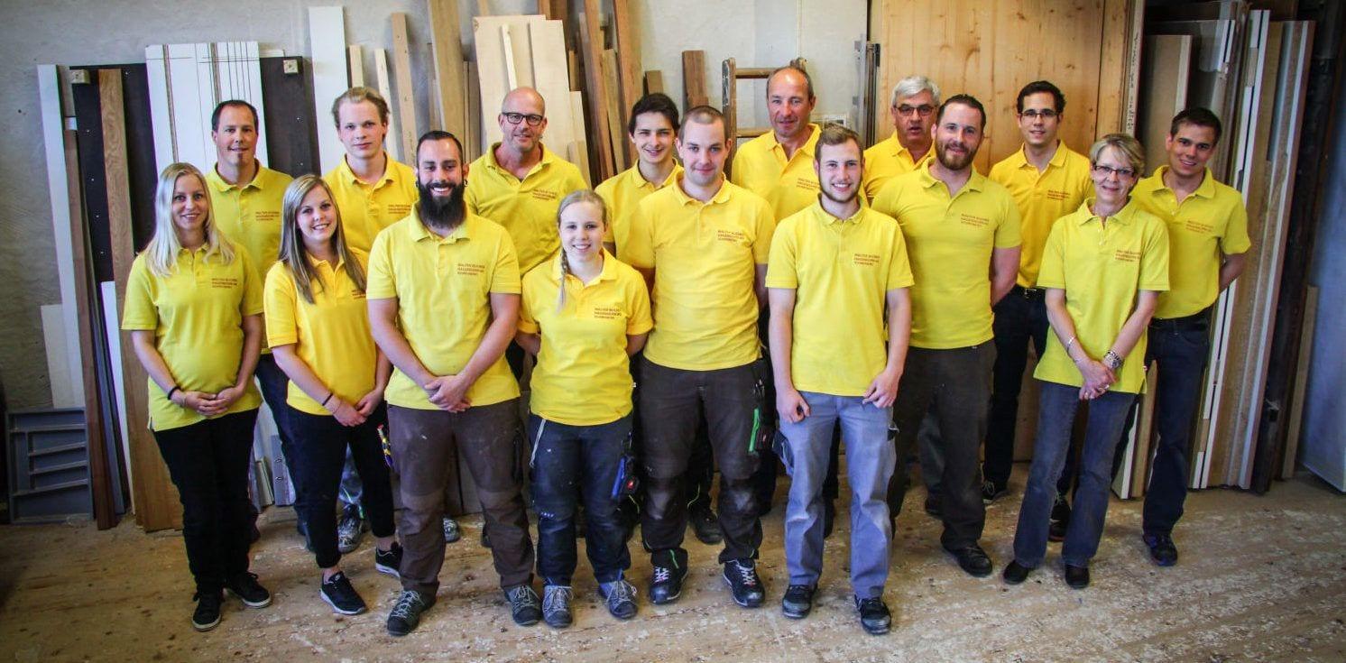 Team Foto Bucher AG Schreinerei